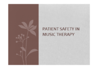 patientsafetymusictherapy